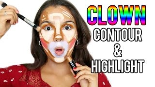 Beauty Busters: Poop or Woop? Clown Contour & Highlight!