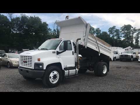 Lewis Motor Company 2007 Gmc C8500 12 Steel Dump Truck Body Isuzu Diesel For Sale On Ebay Youtube