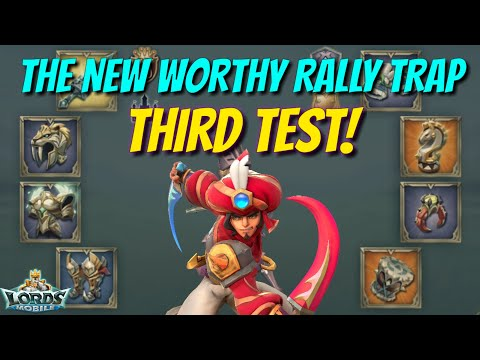 The New Worthy Rally Traps Third Test - Lords Mobile