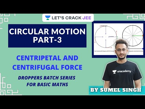 Circular Motion   Part-3   Dropper's Series   JEE 2021-2022 Let's Crack JEE   Sumel Singh   Foci