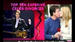 Parmalat: Top 10 , Expensive Celeb Divorces(03.07.2012)