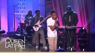 "The Internet Performs ""Dontcha"" on The Queen Latifah Show"