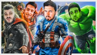 AVENGERS con VEGETTA, ANGEL y FARGAN