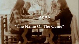 "ABBA ""The Name Of The Game""  (Widescreen - High Defintion)"