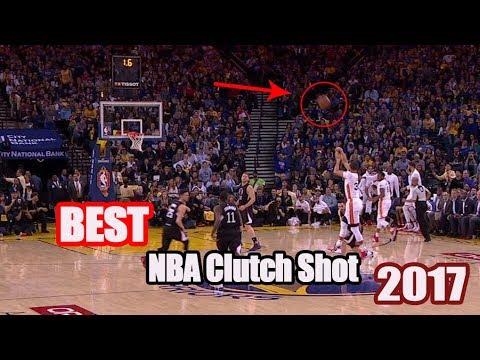 BEST NBA CLUTCH SHOTS 2017