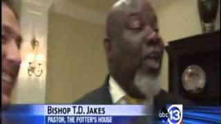TD Jakes Affirms Joel Osteen Exposing Charlatans
