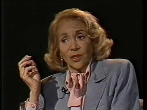 Monica Lewis--Rare TV Interview, Earthquake, Airport