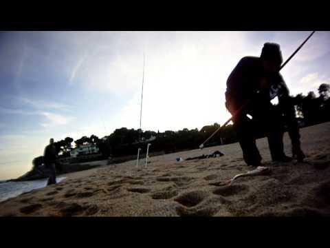 Pescando Brecas en la costa Brava