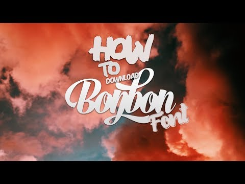 Bonbon Font Download Full Script | Modern Font | Free Fonts |