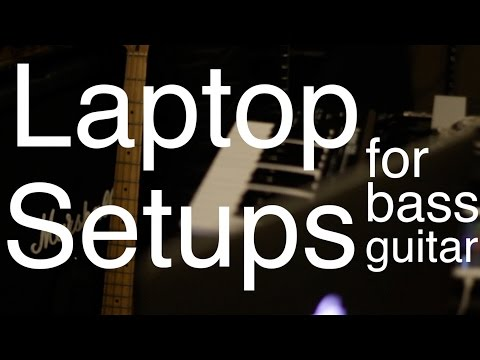 Laptop Setups for Bassists in Live Electronic Music [ AN's Bass Lessons #8 ]