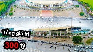 HAYZOtv - Xếp 200 xe ô-tô Trước Cổng Sân Mỹ Đình Cổ Vũ Đội Tuyển Việt Nam Vô Địch