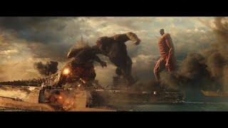 I put Colossal Titan in the Godzilla vs Kong Trailer