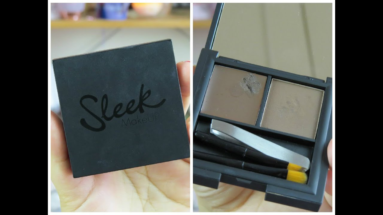 Sleek Brow Kit | Review & Demo! - YouTube