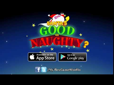 Santa's Good Or Naughty? - Available For IOS And Android! - A Game By MyBox Game Studio