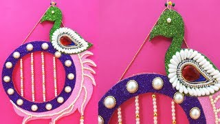 Easy Cotton Bud Peacock Decoration Craft - Easy Best Of Waste Decoration Idea for