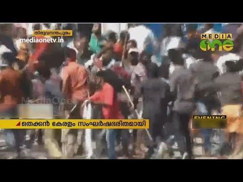 CPM - BJP പ്രവര്ത്തകർ നേര്ക്കുനേർ; യുദ്ധ സമാനമായി തെക്കന് കേരളം | South Kerala | Harthal
