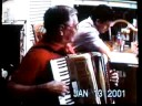 """Gerald Wagner plays accordian """"Turkey in the Straw"""" 2001"""