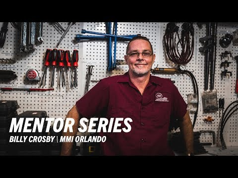 MMI Marine Instructor, Billy Crosby - Marine Technical Institute