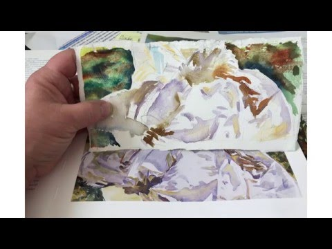 Paint Watercolors Like John Singer Sargent