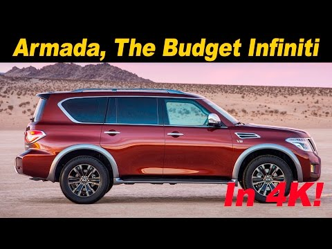2017 Nissan Armada First Drive Review - In 4K UHD!