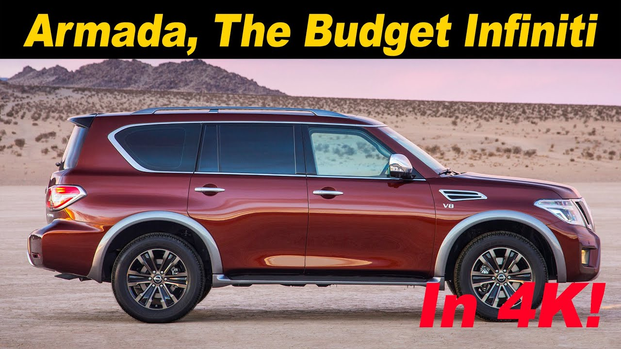2017 nissan armada first drive review in 4k uhd youtube. Black Bedroom Furniture Sets. Home Design Ideas