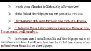 Monica Rial's MAIN WITNESS Sides with Vic Mignogna! (Stan Dahlin Affidavit)
