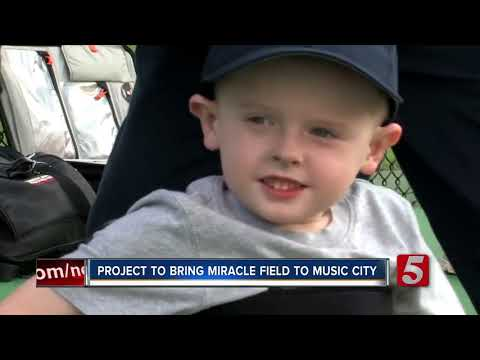 Miracle League Of Music City To Build Baseball Field For Athletes With Special Needs