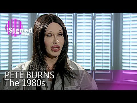 Pete Burns - Interviewed in 2009 about the 80's (full length)