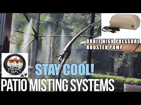 Orbit High Pressure Misting Pump | KEEP YOUR PATIO COOL