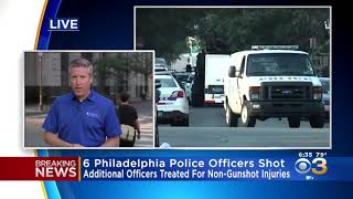 #PhiladelphiaShooting 6 Philadelphia Police Officers Shot During Gun Battle In Nicetown-Tioga Sectio