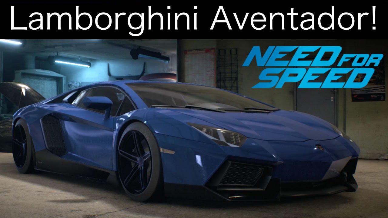Nfs 2015 Lamborghini Aventador Customization Test Drive