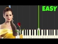 The Beauty And The Beast [Easy Piano Tutorial] (Synthesia/Sheet Music)
