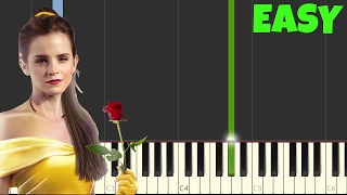 Video The Beauty And The Beast [Easy Piano Tutorial] (Synthesia/Sheet Music) download MP3, 3GP, MP4, WEBM, AVI, FLV Agustus 2018