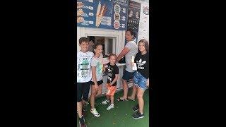 CZ10-Wakacje 2018-Odwiedzamy Kadre Małopolski Dziewczyny U13 w Mielnie-Meczyk i Zwycięskie Lody