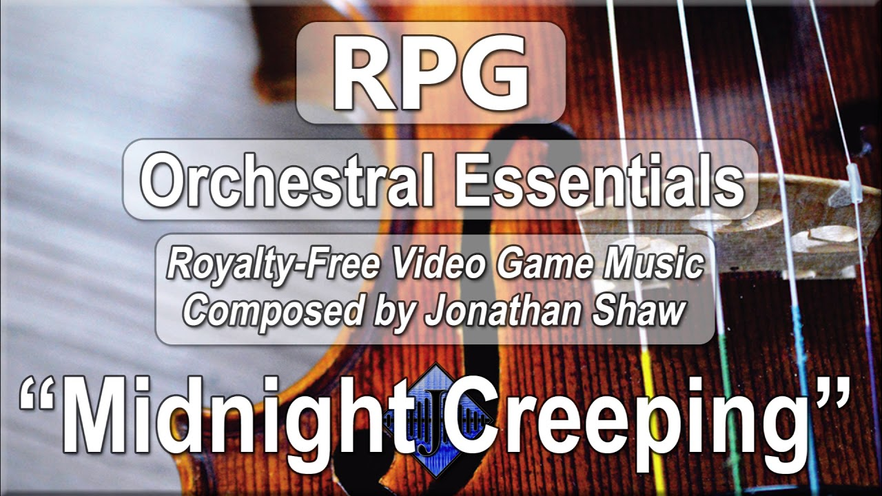 "Free Video Game Music - ""Midnight Creeping"" (RPG Orchestral Essentials)"