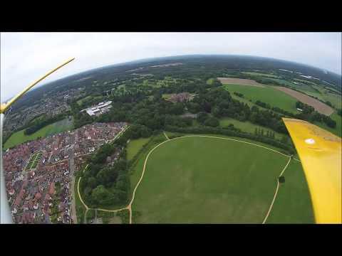 Virage - in flight footage
