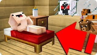BebÉ Noob Tiene Una Pesadilla En Minecraft 😱