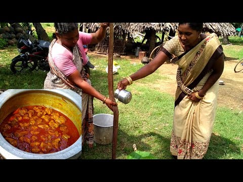 Indian Village Aunty Cooking Water Snake – How To Cook Water Snake Curry  – Water Snake Recipe 2017