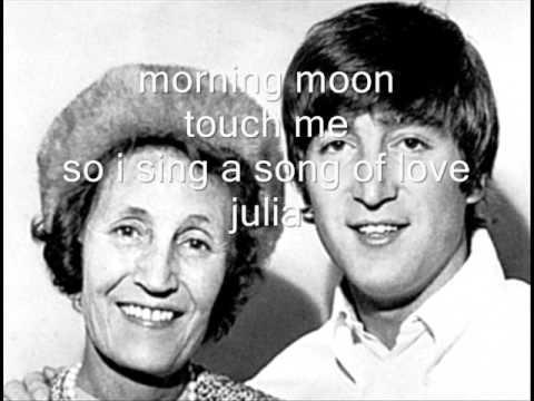Julia John Lennon lyrics