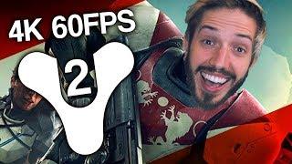 Destiny 2 PC Beta Gameplay In Eye Popping 4K 60FPS!