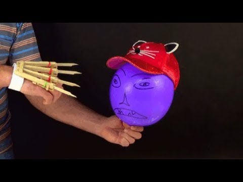 DIY Logan X Men Wolverine Automatic Claws from 20 Popsicle Sticks
