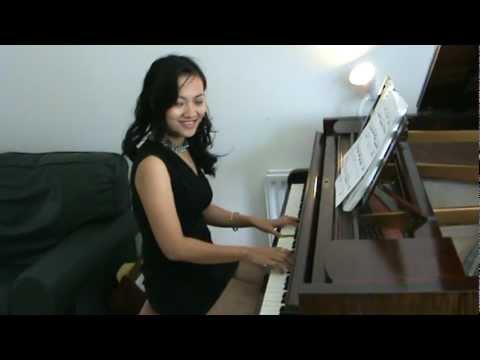 Piano Girl Wallpaper Fur Elise Full Version Beethoven Sexy Pianist Grade