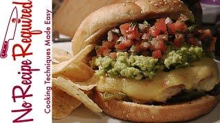 Arizona Cardinals Guacamole Burger - Nfl Burgers - Noreciperequired.com