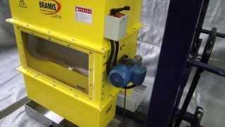 Tambor Magnético Neodímio  separação magnética Bramis Ima forte.