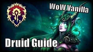 WoW Vanilla Class Guides - Druid