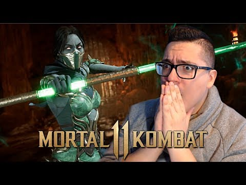 Mortal Kombat 11 - Jade Gameplay Trailer REACTION! Jade Epic Gear Revealed and More!