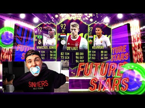 FIFA 19: FUTURE STARS Pack Opening / SBC´s + Weekend League 🔥🔥 thumbnail