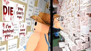 Roblox game where you can leave disturbing notes...