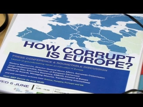 Corruption risks Europe's financial recovery, watchdog warns