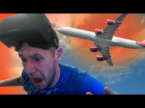 Fall out of a PLANE in VIRTUAL REALITY!!